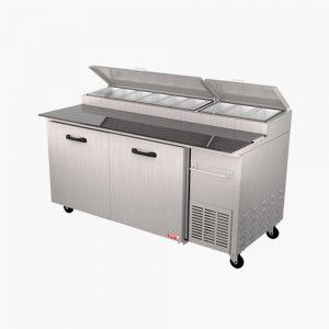 Mesas frías de preparación PTP11