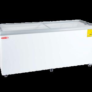 Congeladores horizontales tapa de cristal plano CHC-180PR