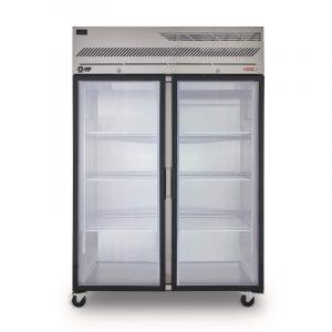 Refrigeradores sólidos puerta de vidrio RG1300