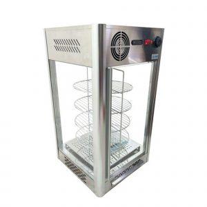 Exhibidor y calentador de pizza  RTR-108L